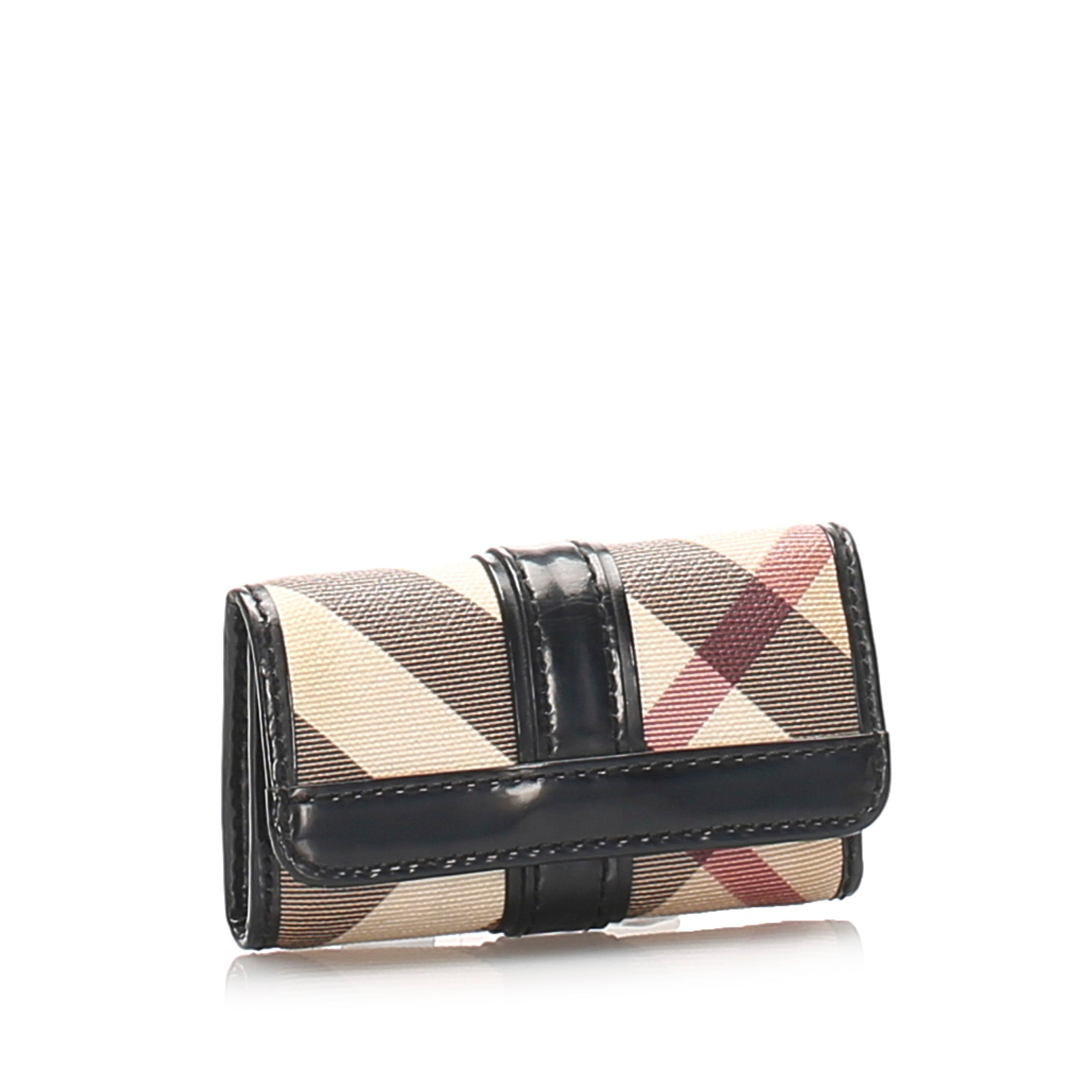 Burberry Multi Nova Check Key Holder