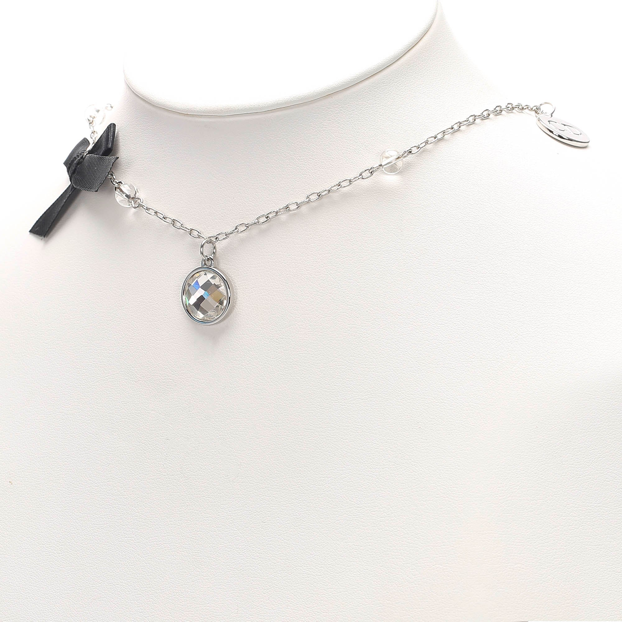 Dior Silver Silver-Tone Charms Necklace