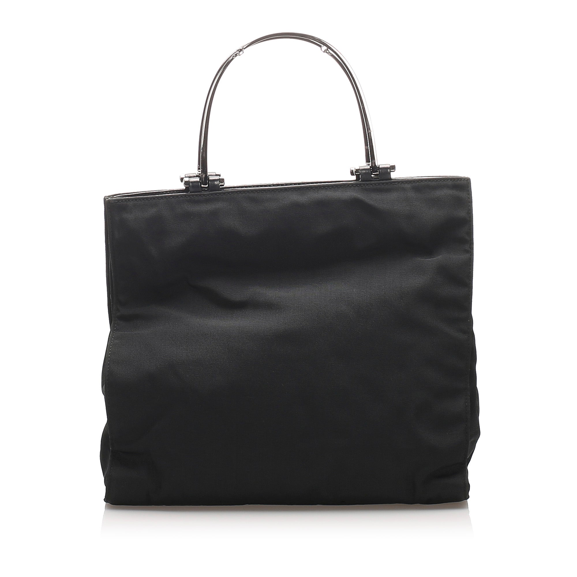 Gucci Black Nylon Handbag