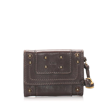 Chloe Brown Paddington Leather Card Holder