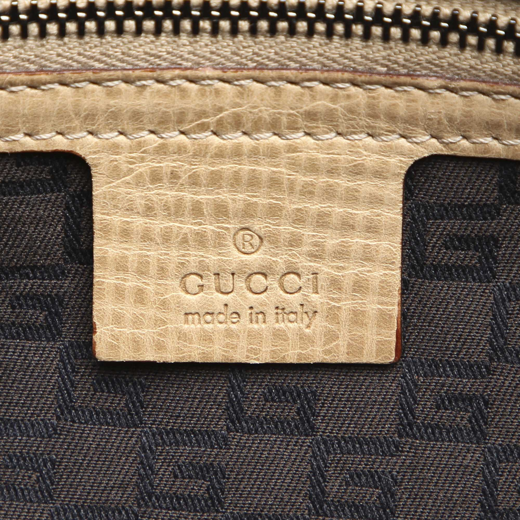 Gucci Brown Leather Handbag