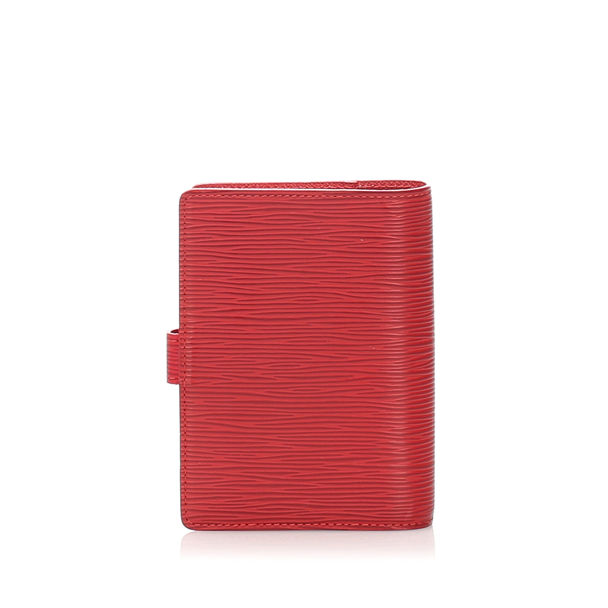 Louis Vuitton Red Epi Agenda PM