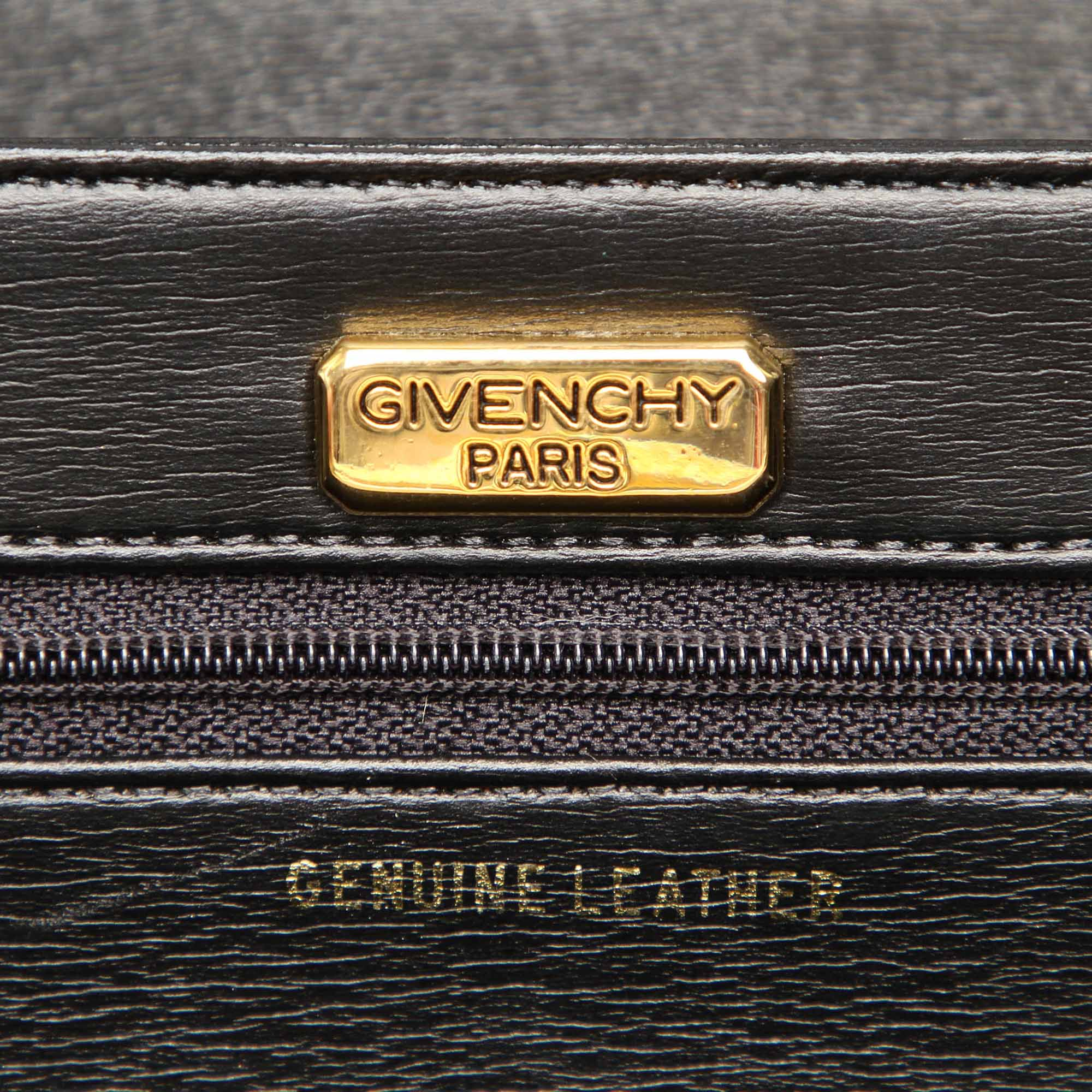 Givenchy Green Chain Leather Crossbody Bag