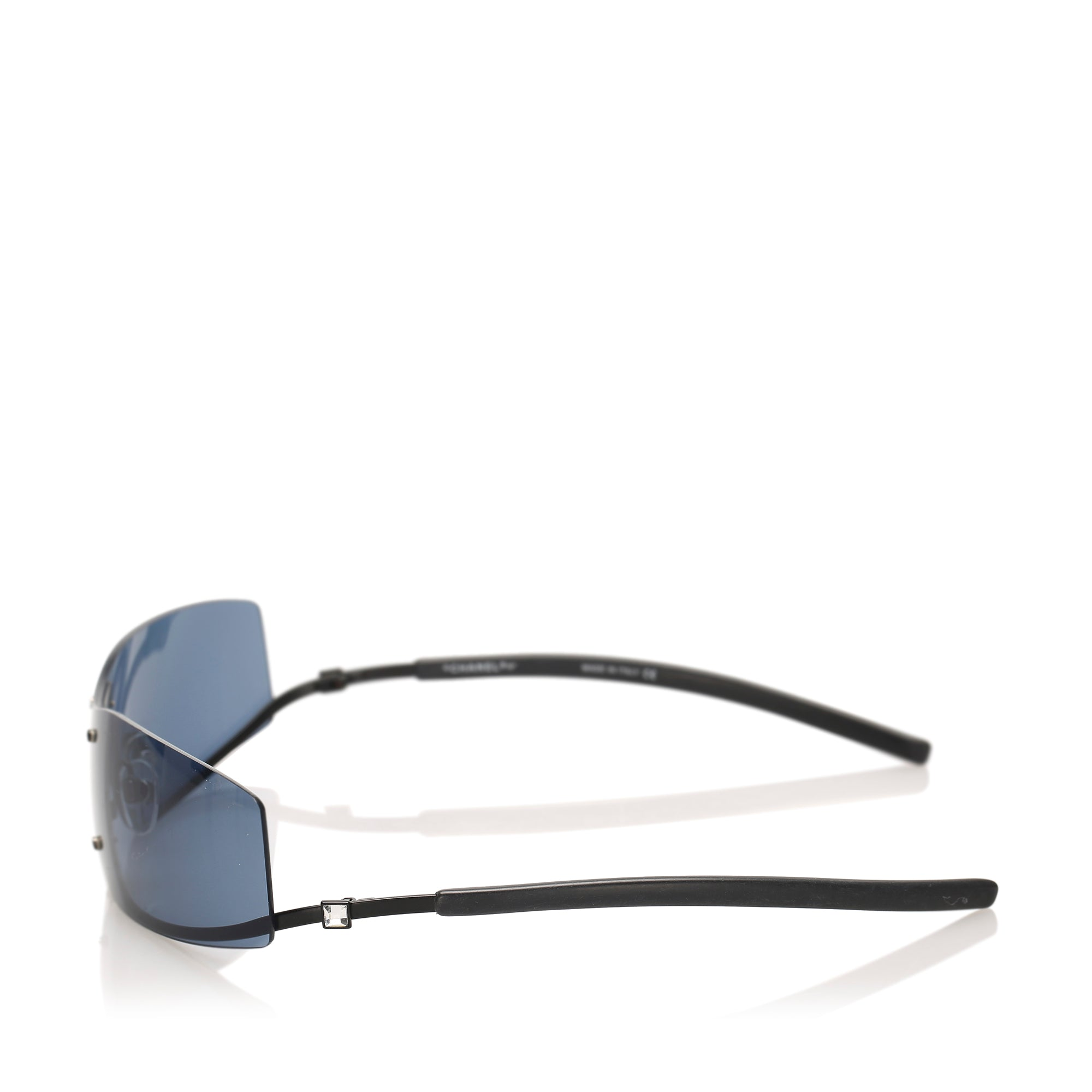Chanel Black Square Tinted Sunglasses