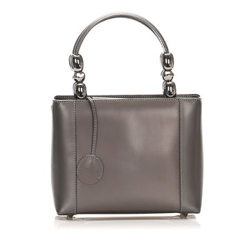 Dior Brown Malice Leather Handbag