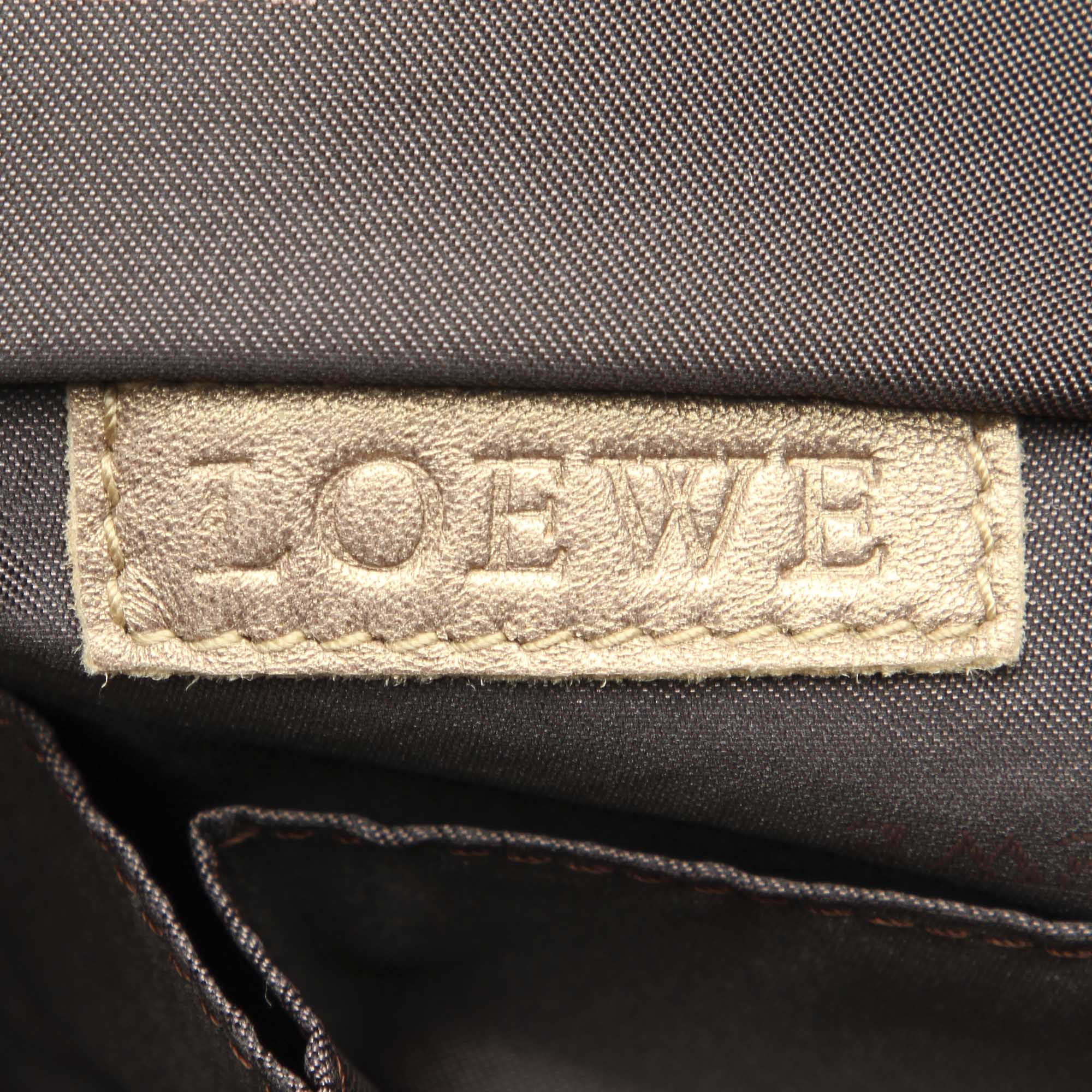 Loewe Brown Brisa Leather Handbag