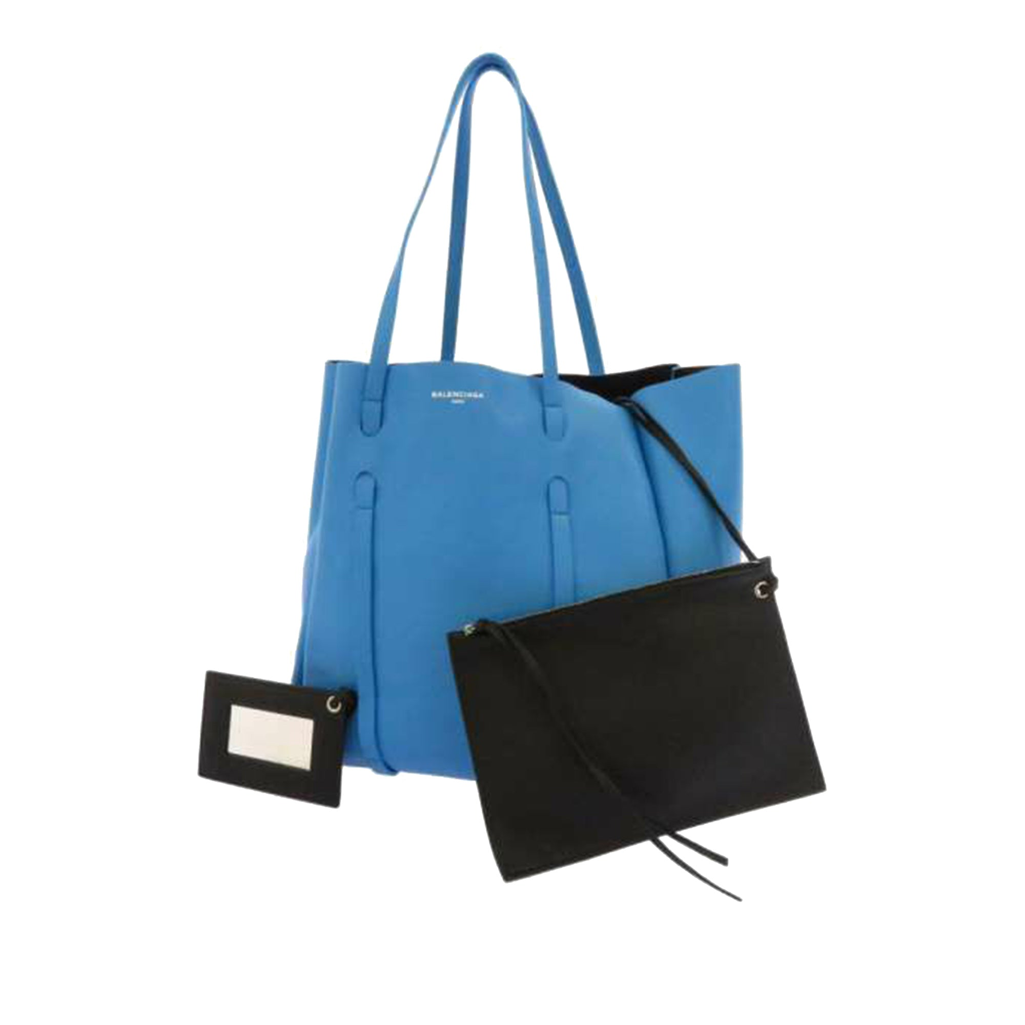 Balenciaga Blue S Everyday Leather Tote