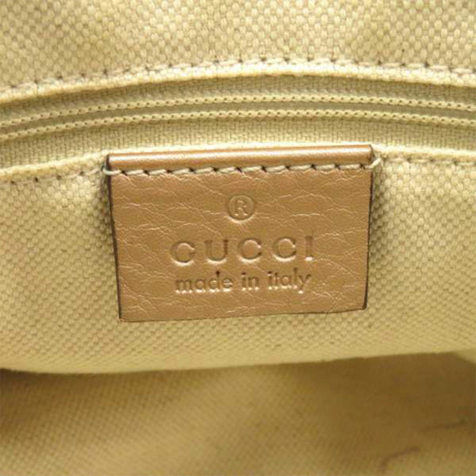 Gucci Brown Sukey Leather Handbag