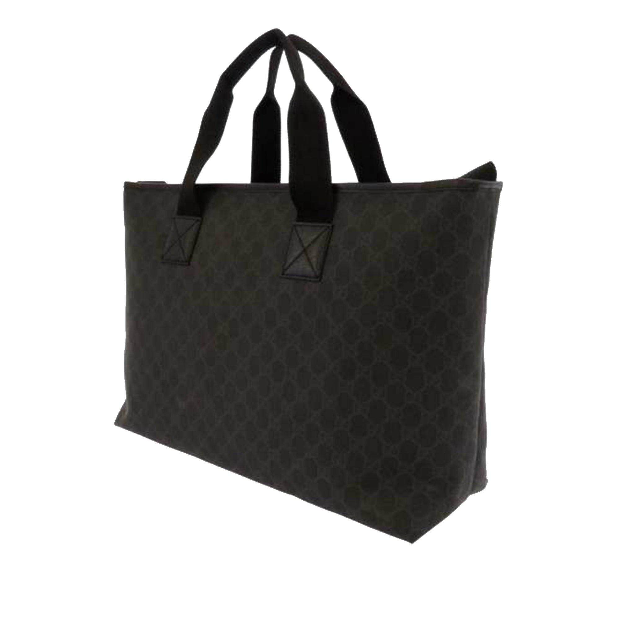Gucci Black GG Supreme Business Bag