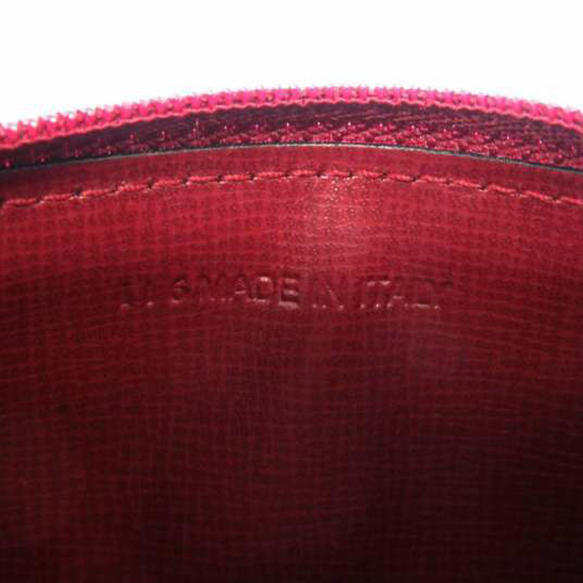 Cartier Red Must de Cartier Leather Coin Purse