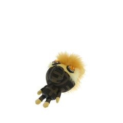 Fendi Brown Zucca Space Monkey Bag Charm