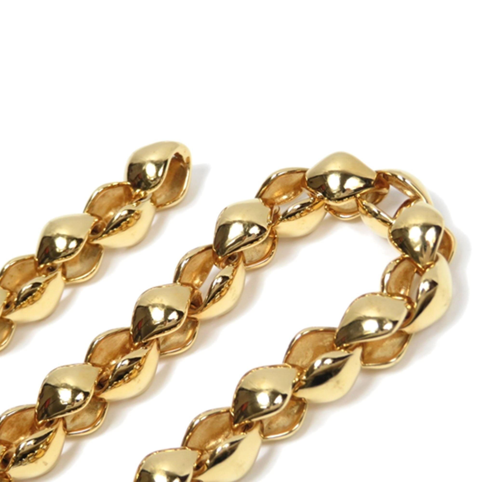 Louis Vuitton Gold Gold-Toned Chain Necklace