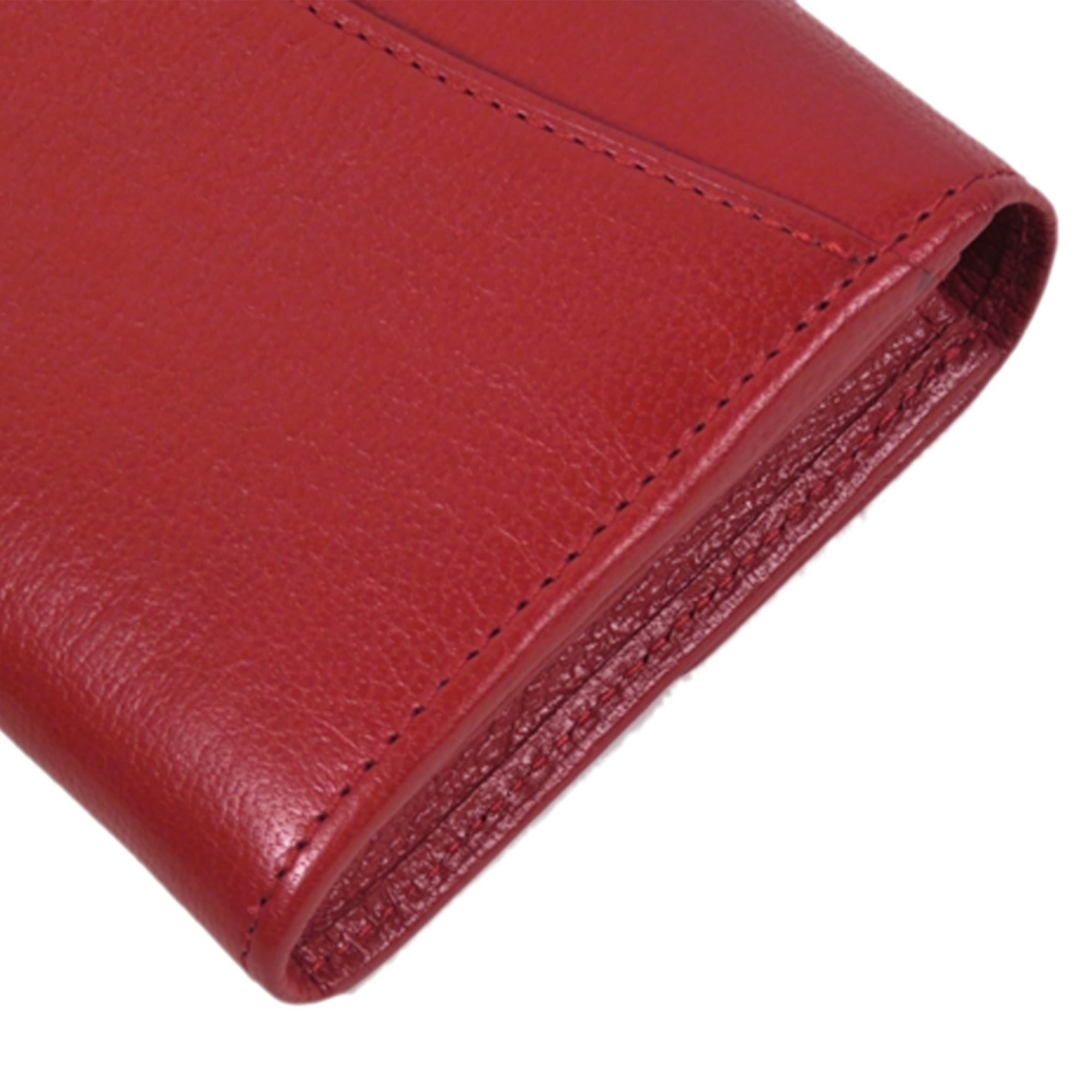 Mulberry Red Leather Long Wallet