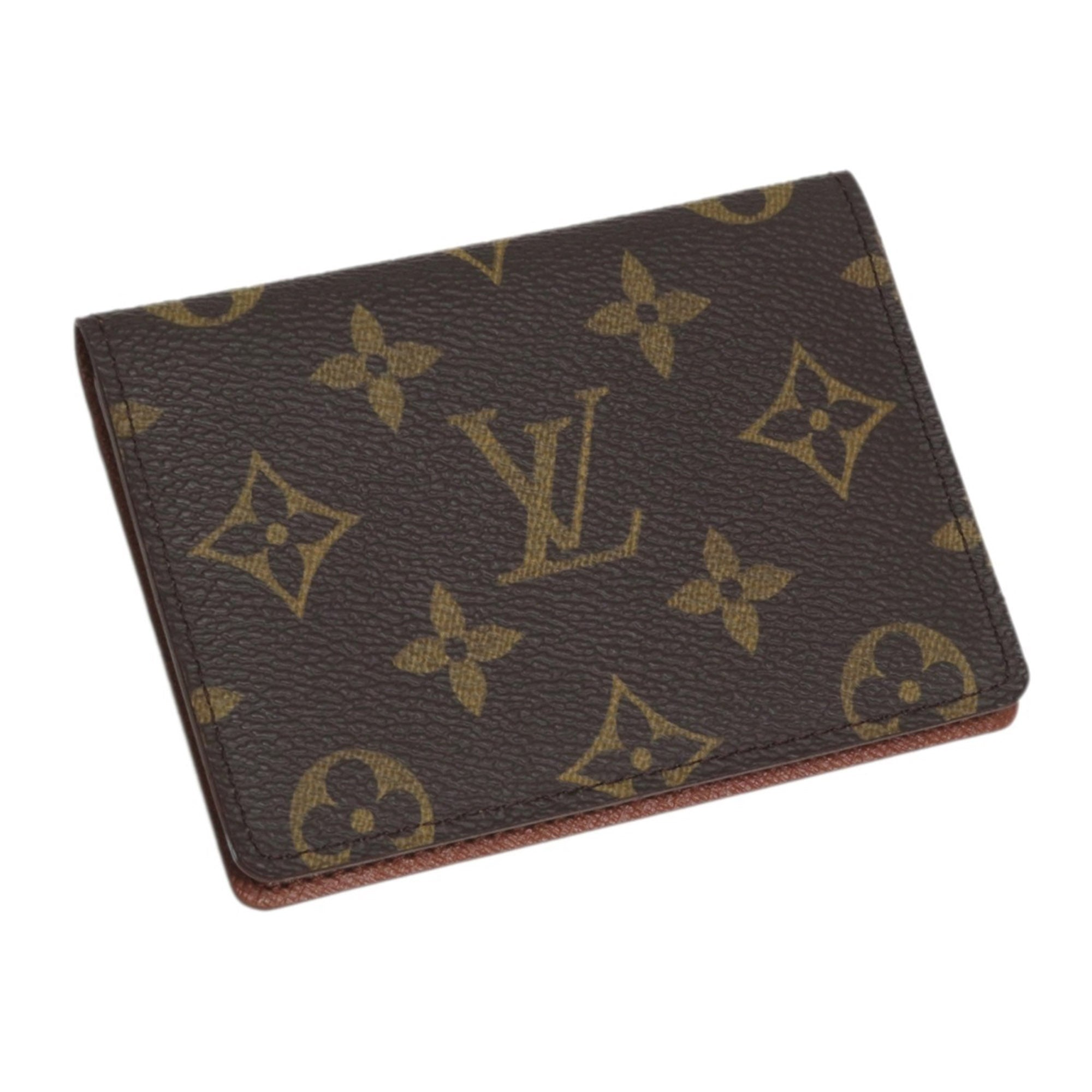 Louis Vuitton Brown Monogram Enveloppe Carte De Visite