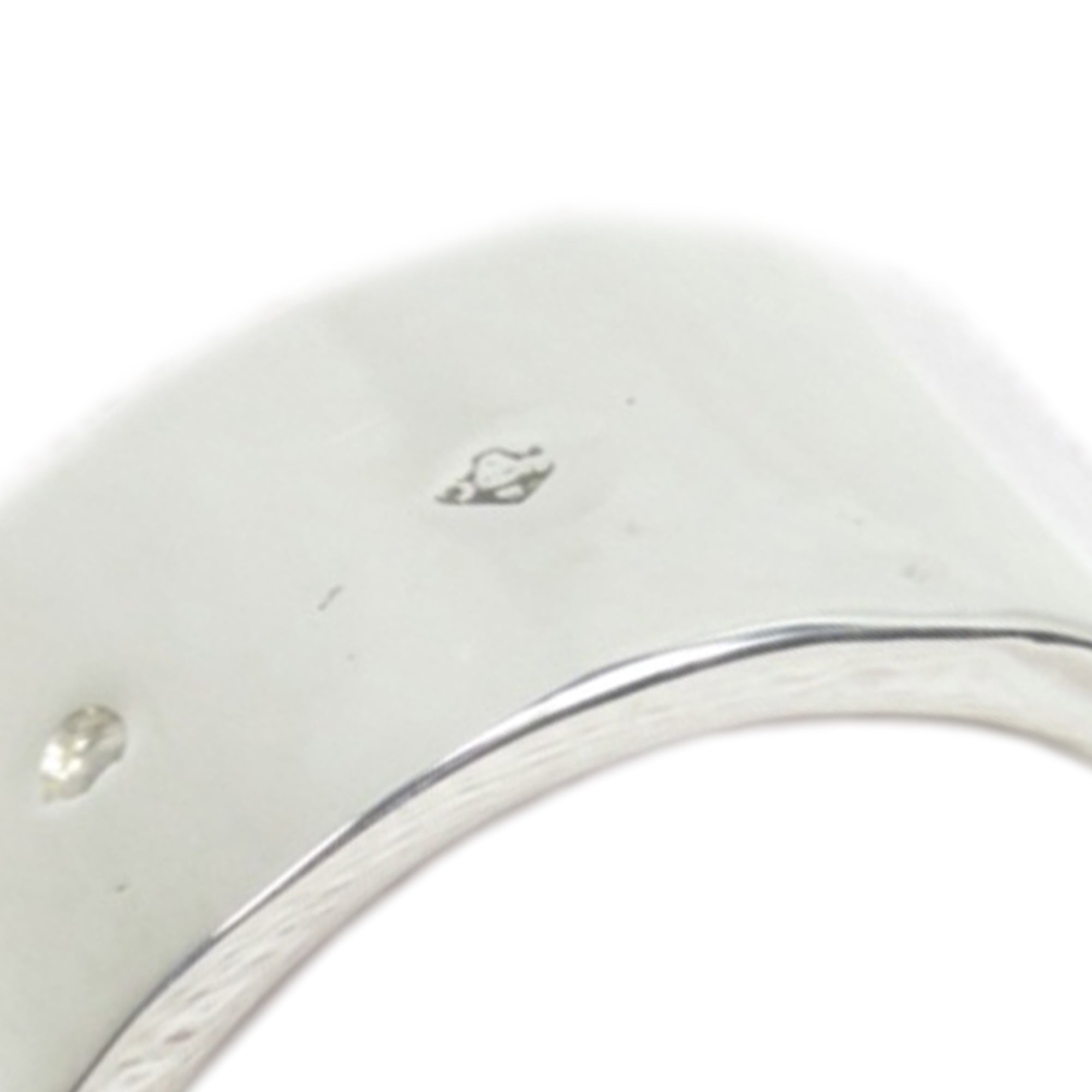 Hermes Silver Silver Candy Ring - 52