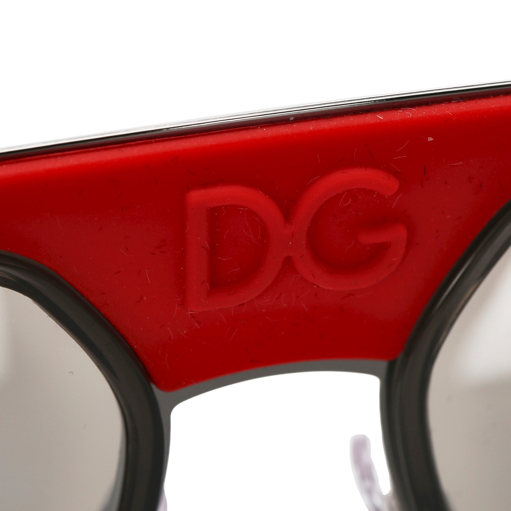 Dolce&Gabbana Black Round Mirror Sunglasses