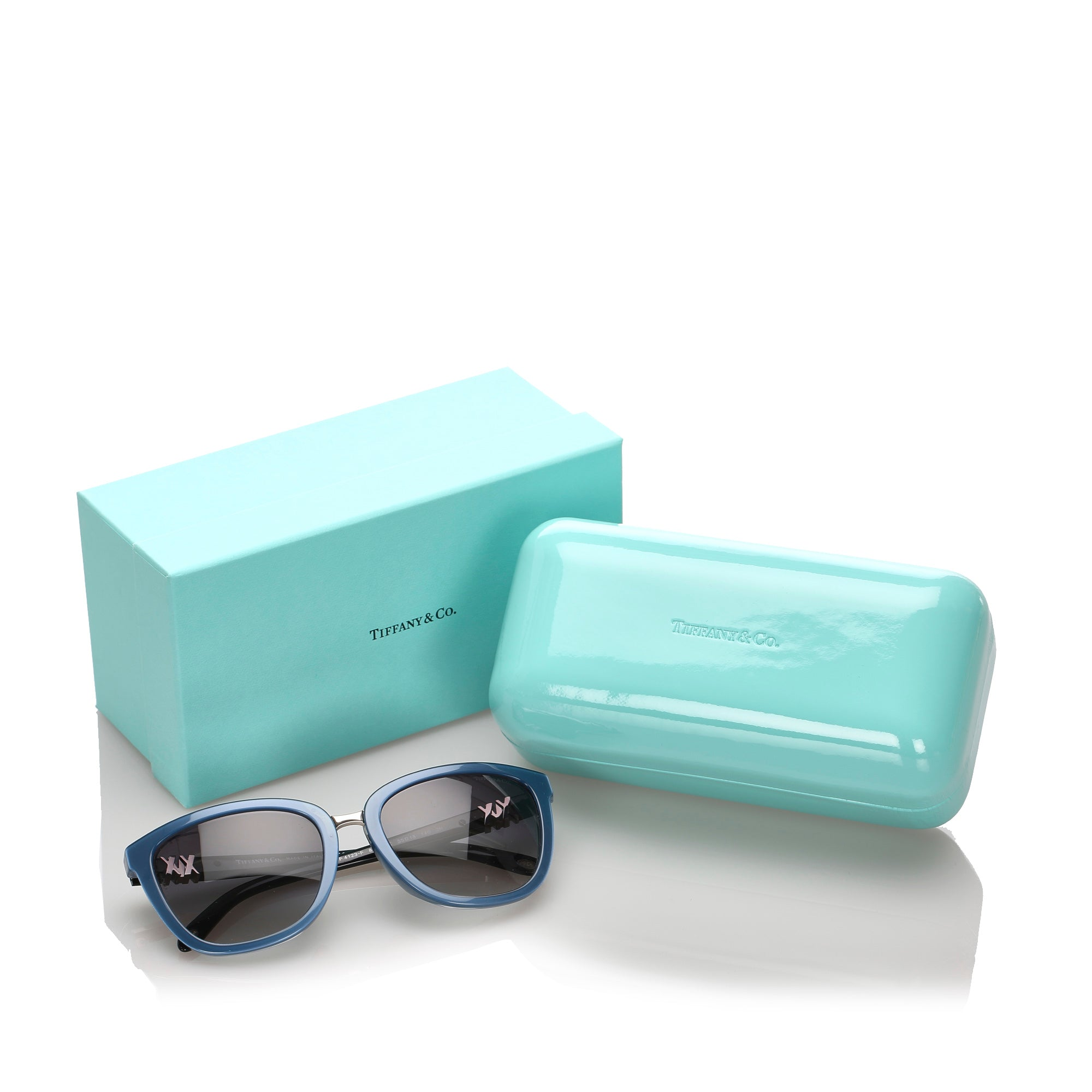 Tiffany Blue Square Tinted Sunglasses