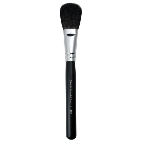 Full view of S.I.L.K® Blush makeup brush facing left