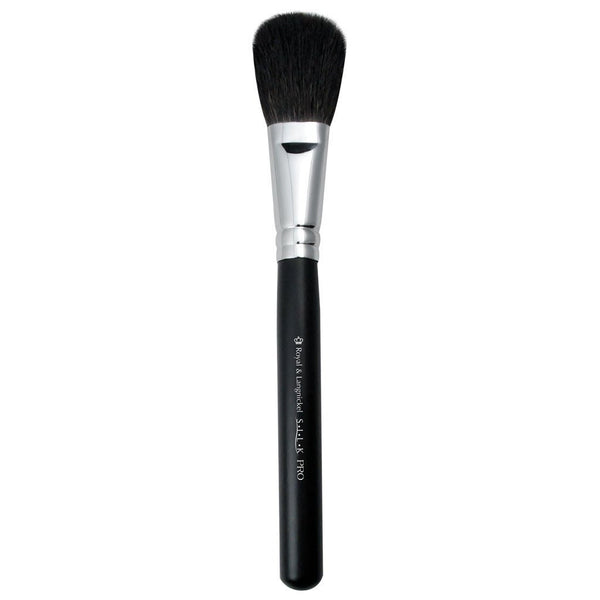 S.I.L.K® Blush Full view of S.I.L.K® Blush makeup brush facing left