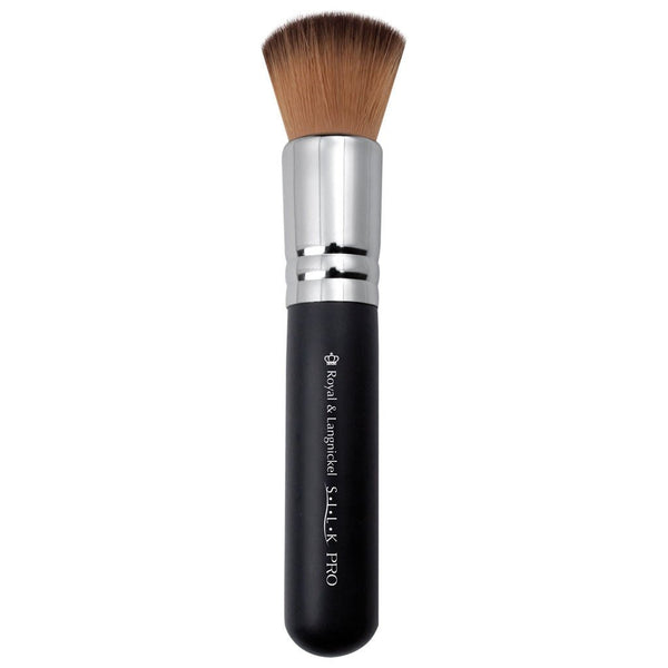 S.I.L.K® Synthetic Bronzer Full view of S.I.L.K® Synthetic Bronzer makeup brush facing left
