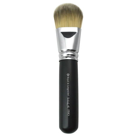 Full view of S.I.L.K® Super Foundation makeup brush facing left