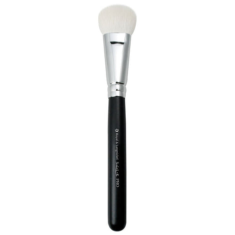 Full view of S.I.L.K® Complexion makeup brush facing left