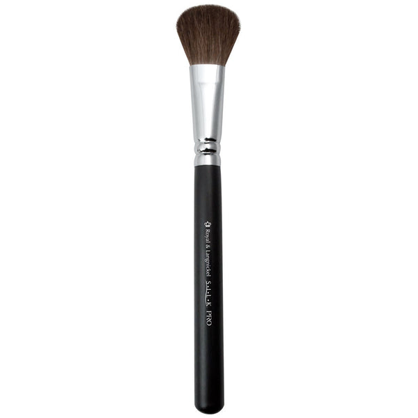 Full view of S.I.L.K® Natural Foundation makeup brush facing upward