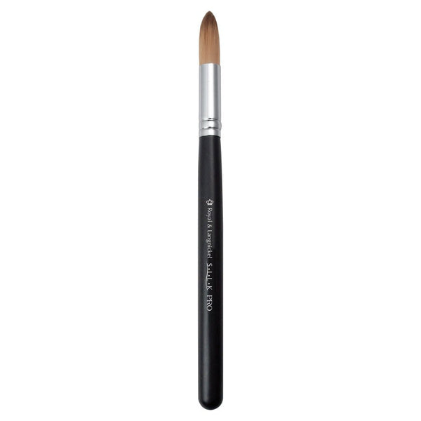 S.I.L.K® Synthetic Shadow Full view of S.I.L.K® Synthetic Shadow makeup brush facing left