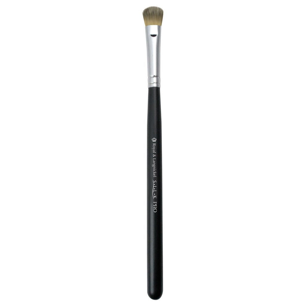 Full view of S.I.L.K® Cream Shadow makeup brush facing left