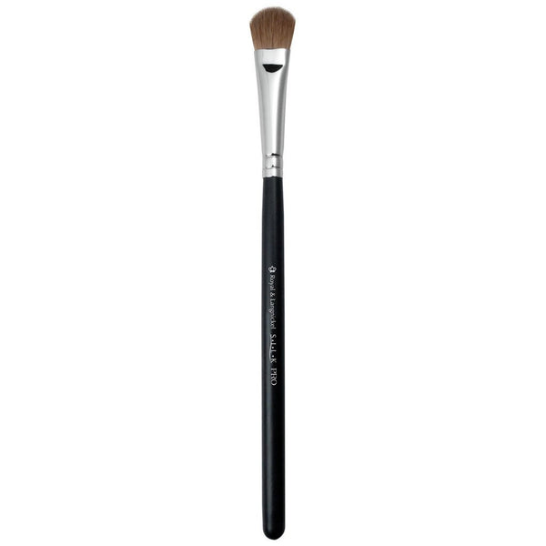 Full view of S.I.L.K® Small Eye Shader makeup brush facing left