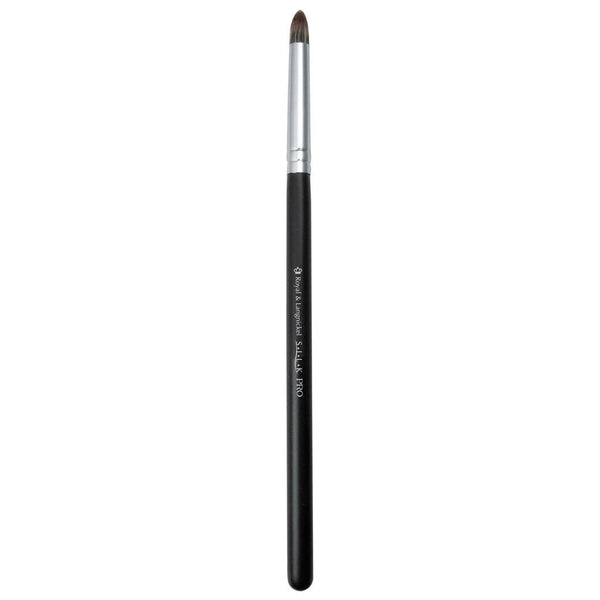 S.I.L.K® Synthetic Smudger Full view of S.I.L.K® Synthetic Smudger makeup brush facing left