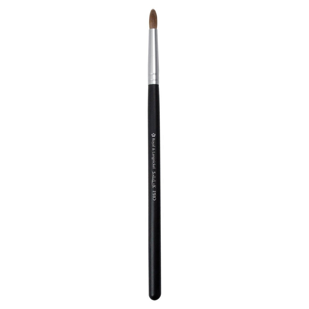 Full view of S.I.L.K® Pointed Liner makeup brush facing left