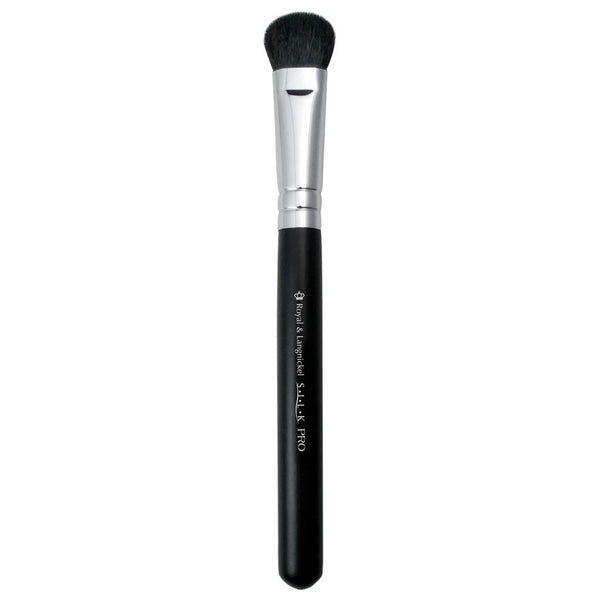 Full view of S.I.L.K® Super Eye Blender makeup brush facing left