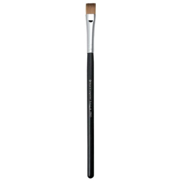 S.I.L.K® Flat Eyeliner Full view of S.I.L.K® Flat Eyeliner makeup brush facing left