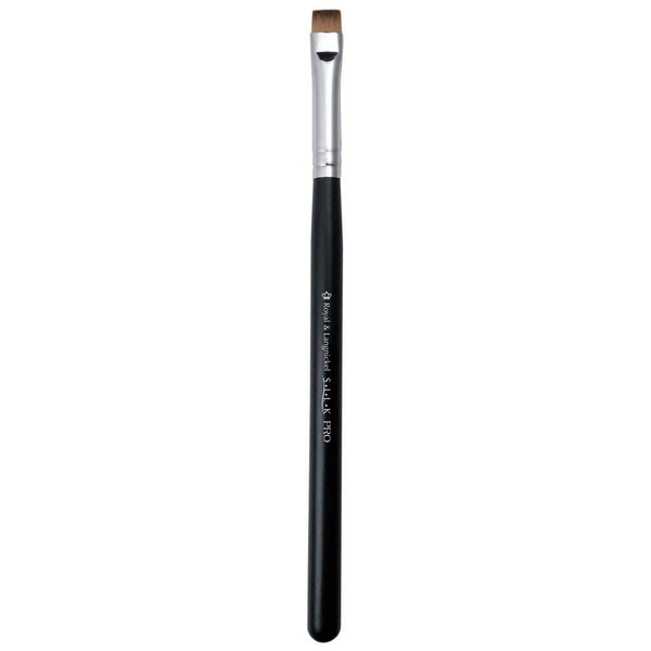 S.I.L.K® Short Flat Synthetic Liner Full view of S.I.L.K® Short Flat Synthetic Liner makeup brush facing left