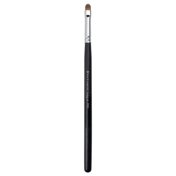 Full view of S.I.L.K® Eye Detailer makeup brush facing left