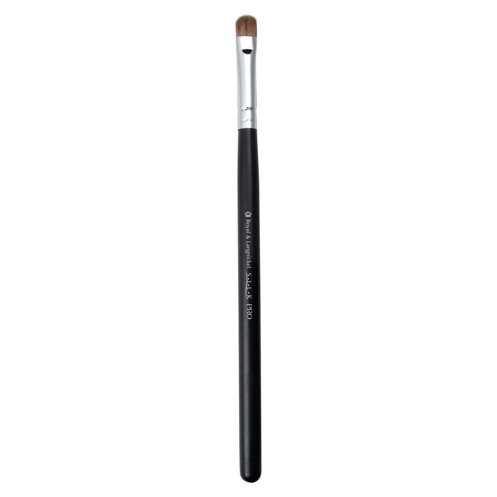 Full view of S.I.L.K® Mini Shader makeup brush facing left