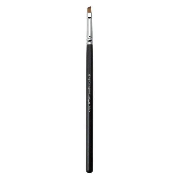 S.I.L.K® Eyebrow Full view of S.I.L.K® Eyebrow makeup brush facing left