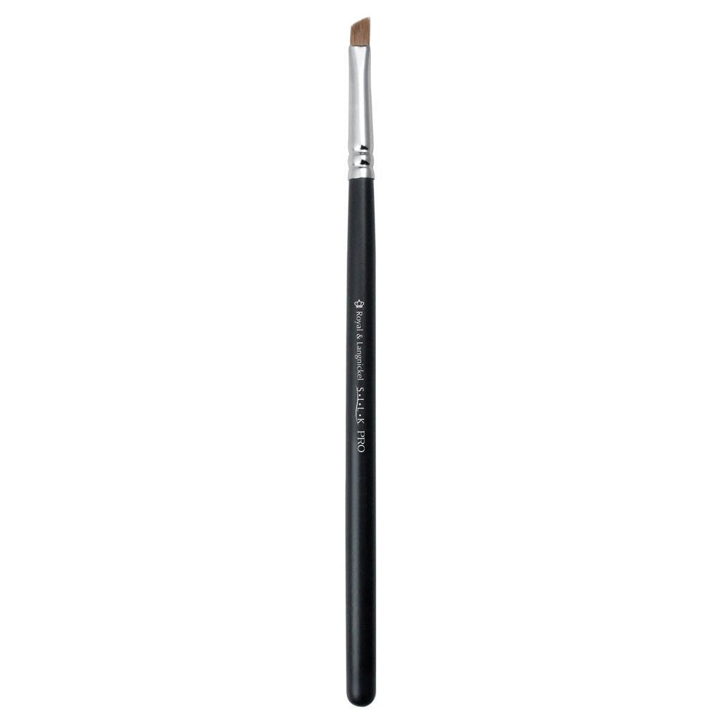 Full view of S.I.L.K® Eyebrow/Liner makeup brush facing left
