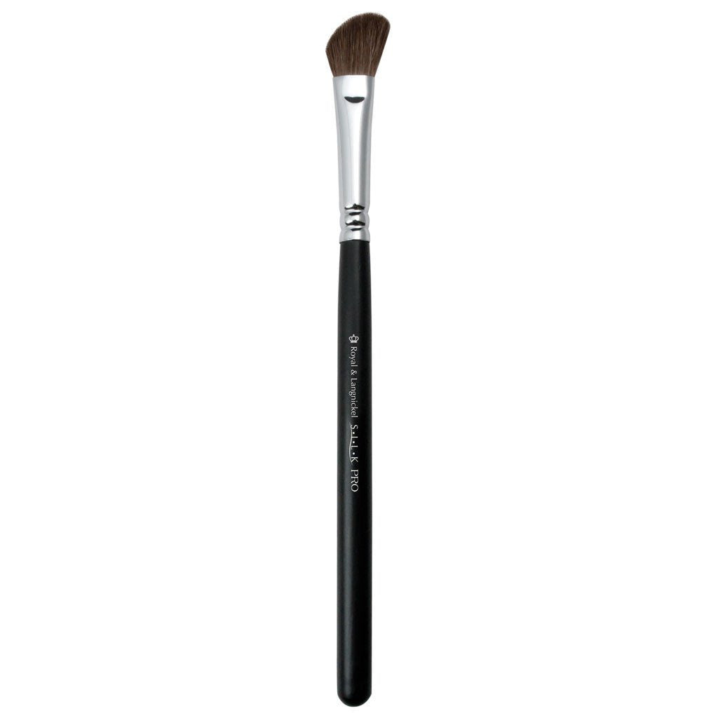 Full view of S.I.L.K® Angle Shader makeup brush facing left