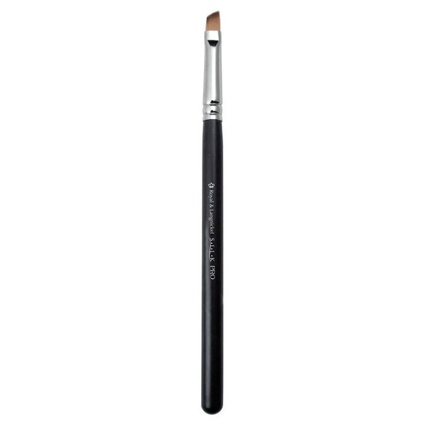 S.I.L.K® Brow Full view of S.I.L.K® Brow makeup brush facing left