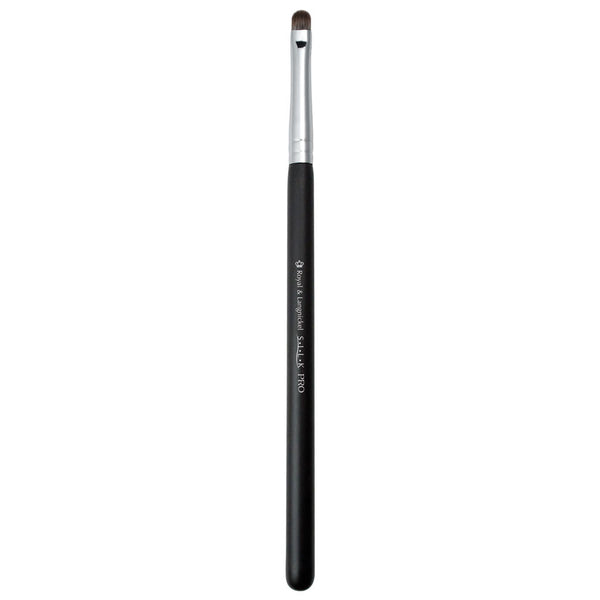 Full view of S.I.L.K® Synthetic Lip makeup brush facing upward