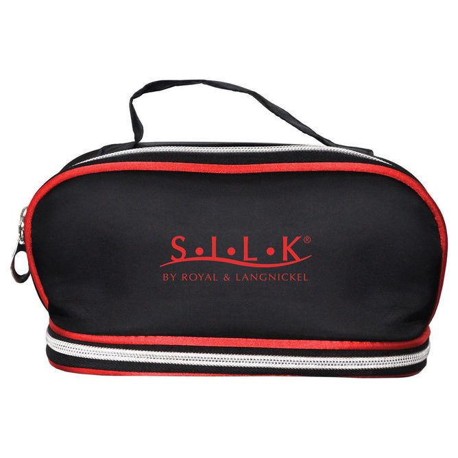 BCCB-201 - S.I.L.K® MD Red Dual Compartment Cosmetic Bag