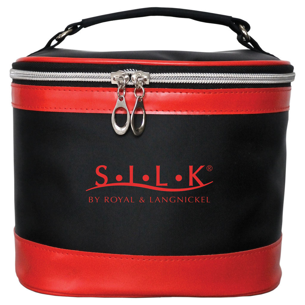 S.I.L.K® Large Red Cosmetic Bag