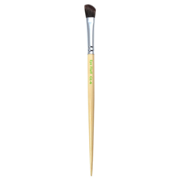 S.I.L.K GreenLine™ Eye Fluff Full view of S.I.L.K GreenLine™ Eye Fluff makeup brush facing upward