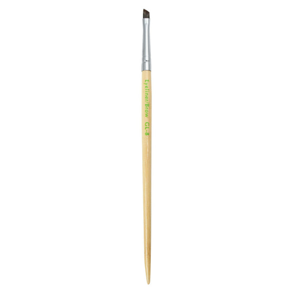 S.I.L.K GreenLine™ Eyeliner/Brow Full view of S.I.L.K GreenLine™ Eyeliner/Brow makeup brush facing upward