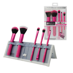 MODA® PERFECT MINERAL 6pc Pink Brush Kit