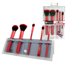 MODA® PERFECT MINERAL 6pc Red Brush Kit