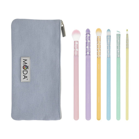 BMD-PPESET7 - MŌDA® Posh Pastel 7pc Delicate Eye Kit