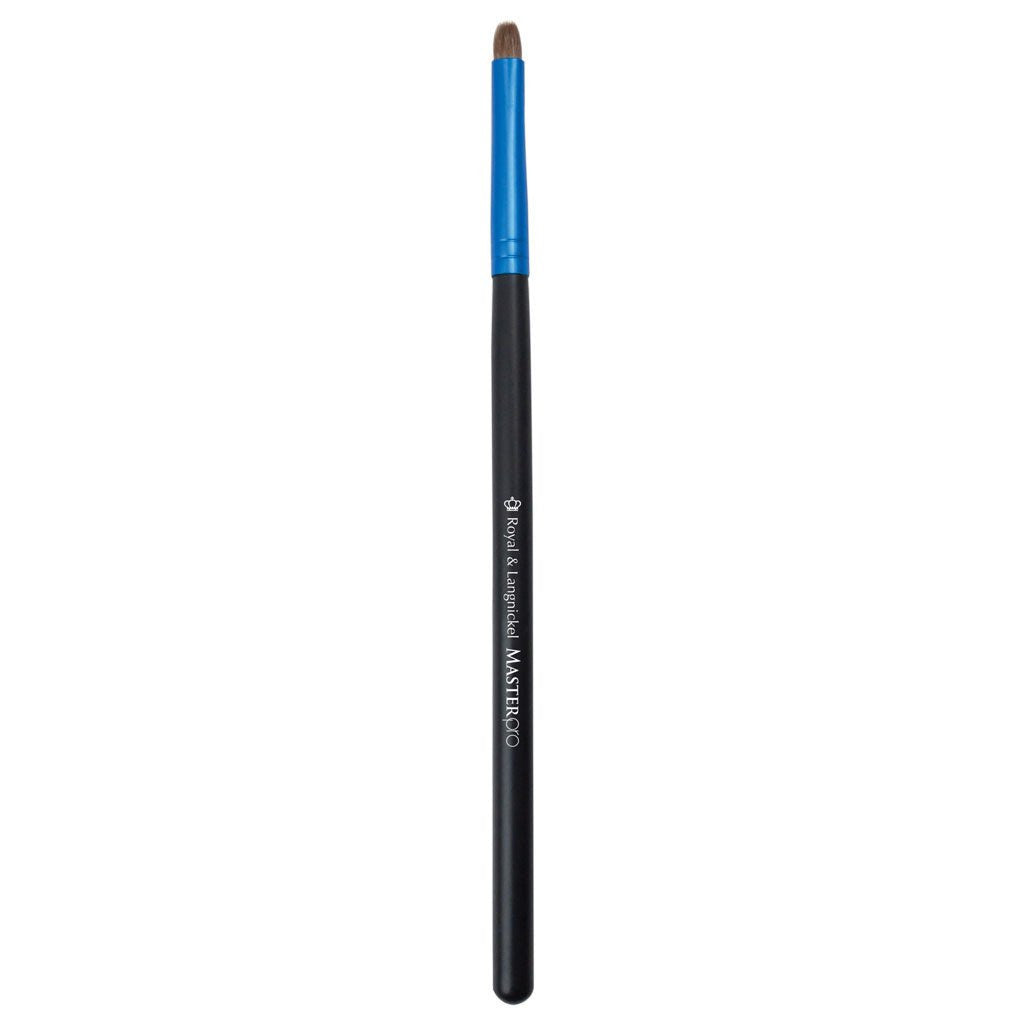 Full view of Master Pro™ Lip makeup brush facing left